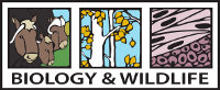 Department of Biology and Wildlife logo